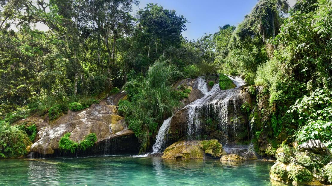 shutterstock_616479641 El Nicho is located inside the Gran Parque Natural Topes de Collantes.jpg