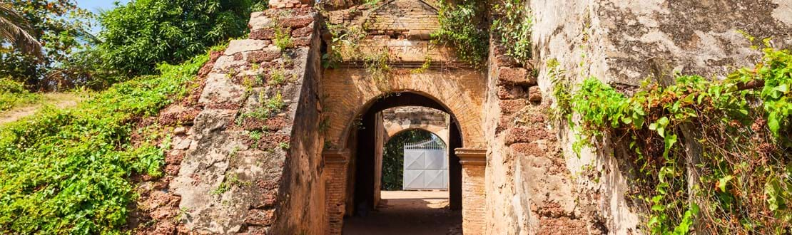 shutterstock_715355782 Entrance gate of Negombo Dutch Fort remains. Negombo Fort was a small but important fort in Negombo, Sri Lanka..jpg