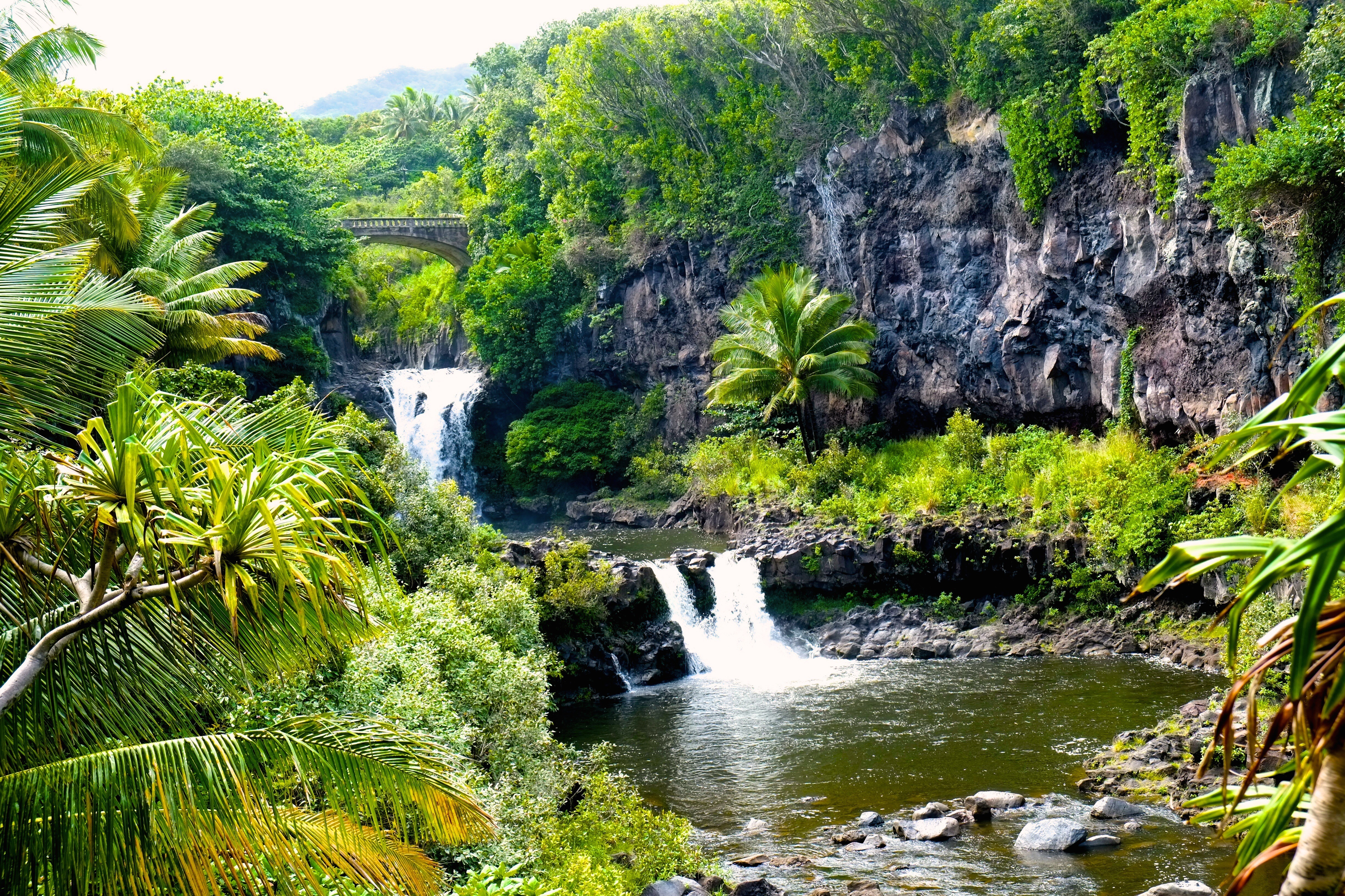 Vandfald, Maui, Hawaii, Check Point Travel