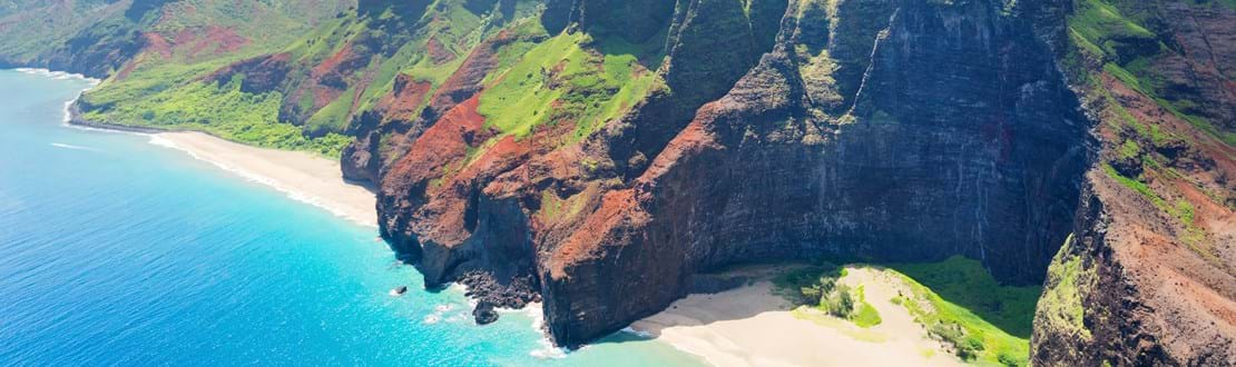 View on Na Pali Coast on Kauai island on Hawaii in a sunny day.jpg