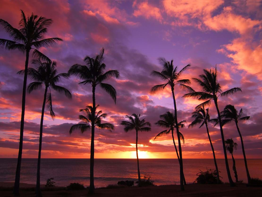Hawaiian Sunset Molokai Hawaii.jpg