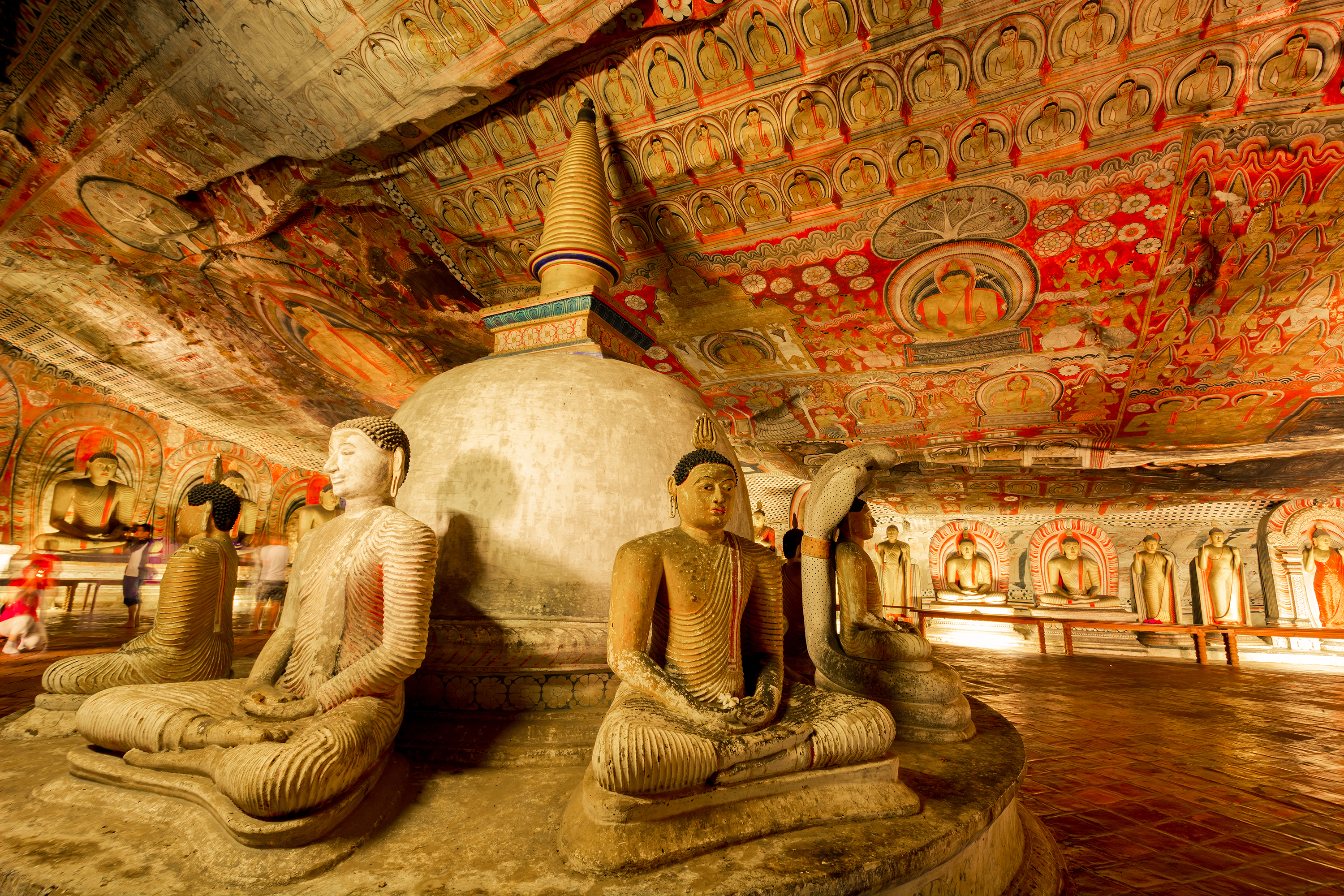 Dambulla, huletempler sri lanka, check point travel