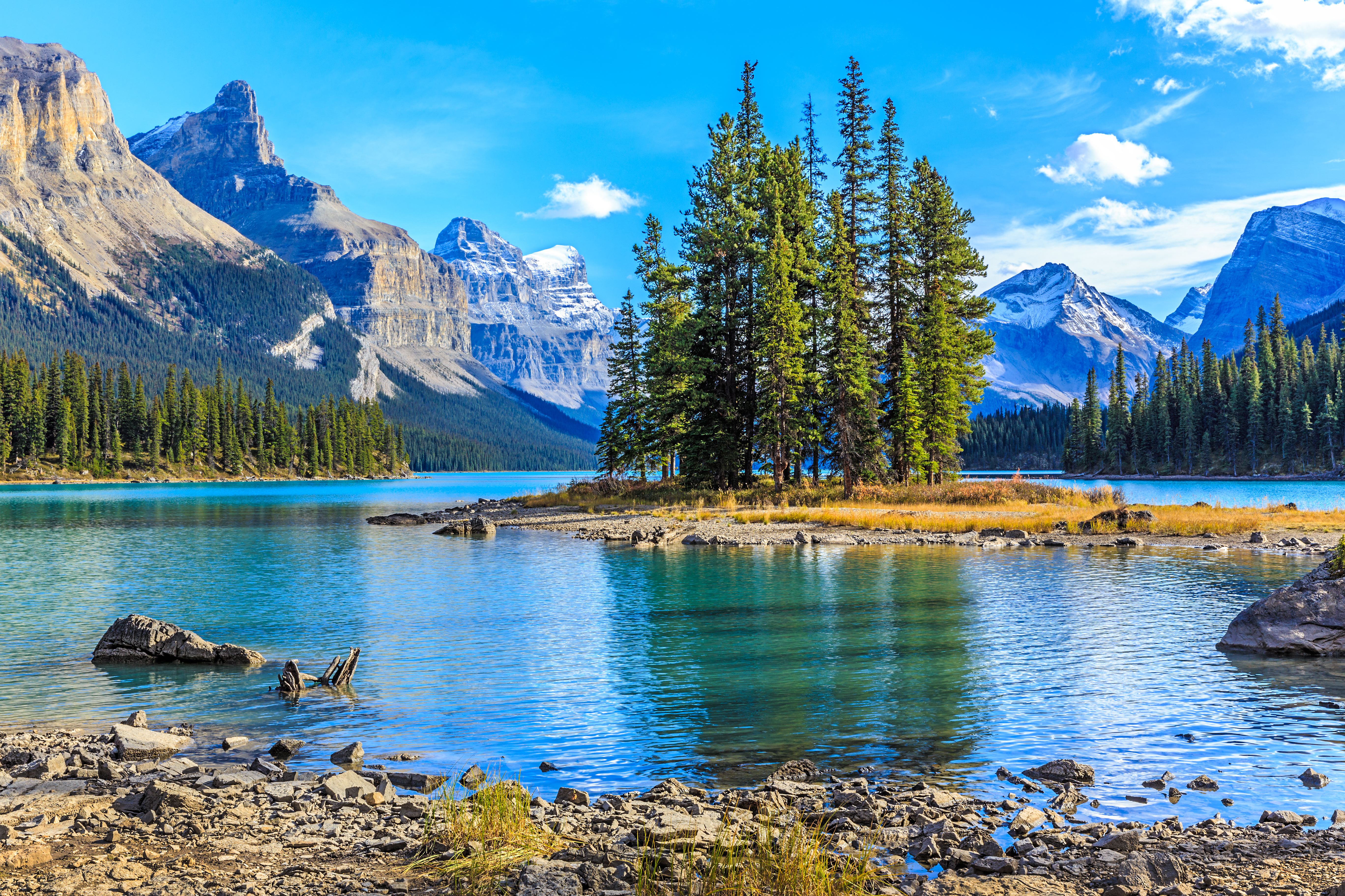Maligne Lake, Jasper National Park, rejser til Canada, check Point Travel