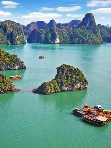 Rejser til Vietnam. Bestil din ferie i dag og oplev skønne seværdigheder