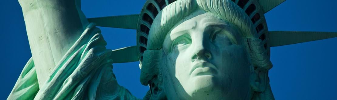 Frihedsgudinden I New York Check Point Travel