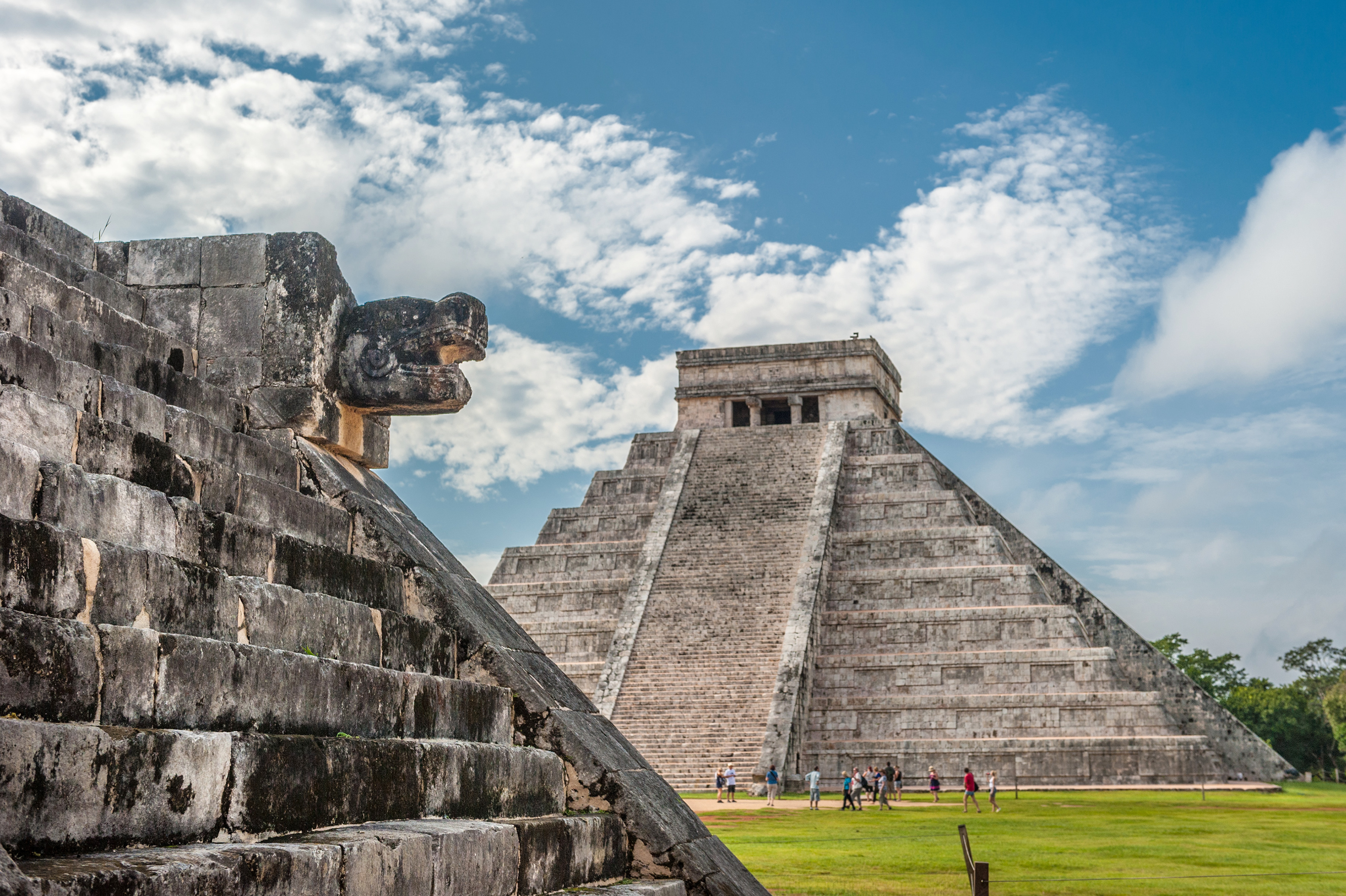 Chichen Itza, rejser til Mexico, check point travel