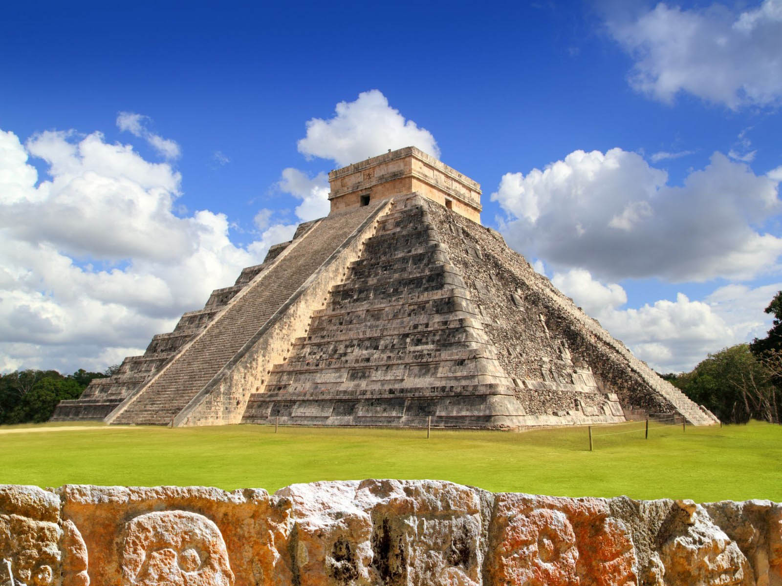 Chichen itza, el castillo, pyramide mexico, sydamerika pyramide, check point travel