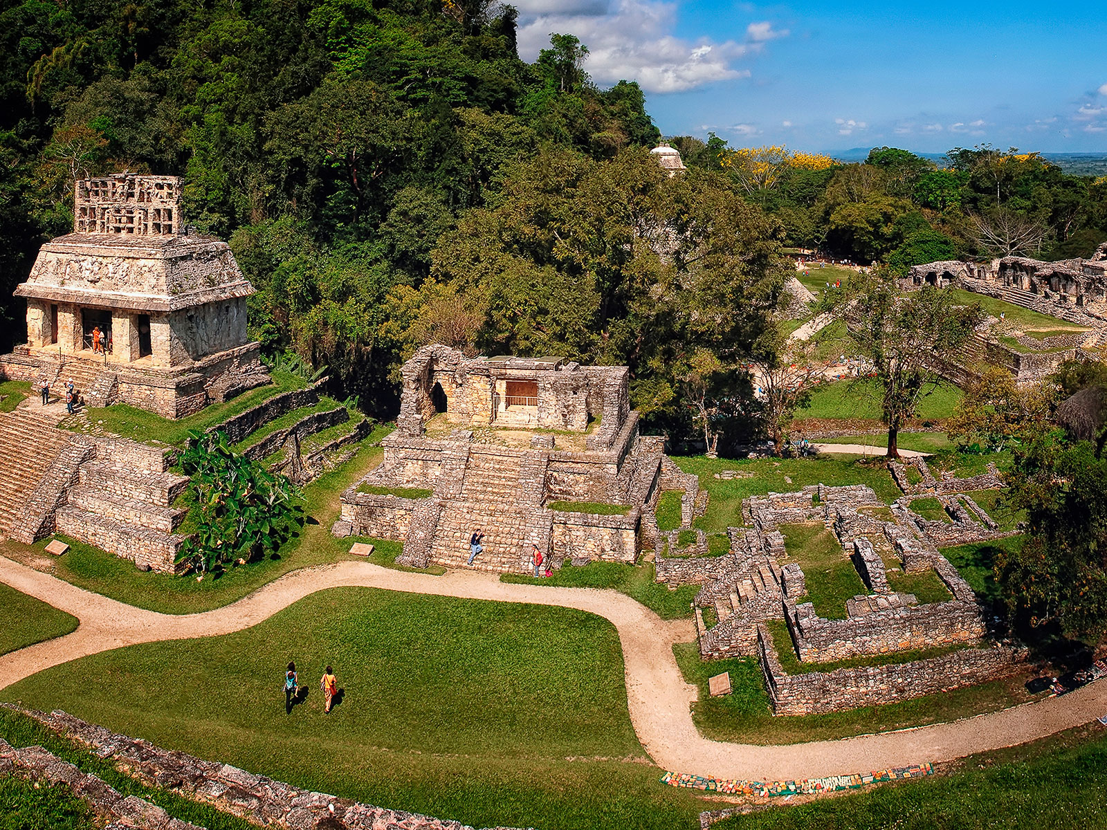 Mayabyen Palenque, Mexico kultur, ferie i Mexico, Check Point Travel