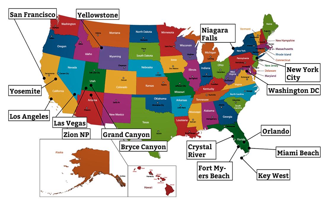 amerikanska delstater