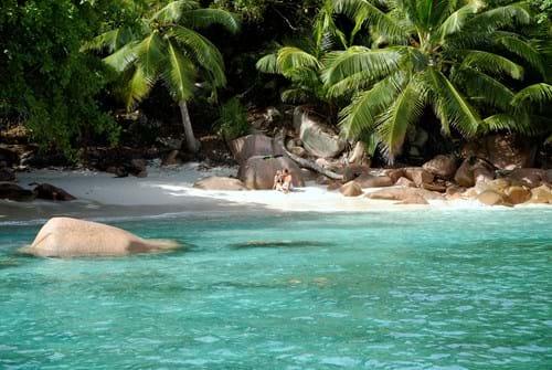 Seychellerne Kort Kort Over Seychellerne Med Cpt