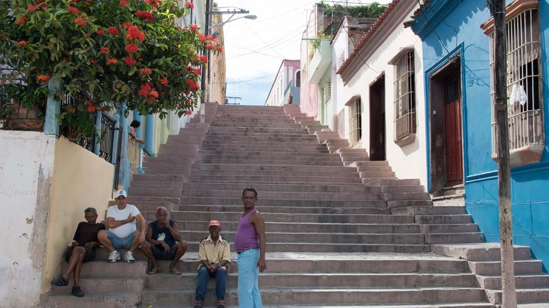 shutterstock_612689084 SANTIAGO DE CUBA, picturesque Padre Pico steps are almost 100 years old. They lead to the Tivoli­ neighborhood.jpg